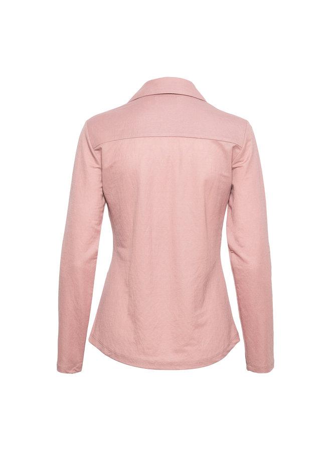 Blouse Lino licht roze