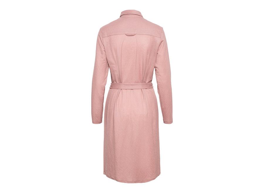 Jurk Lino licht roze