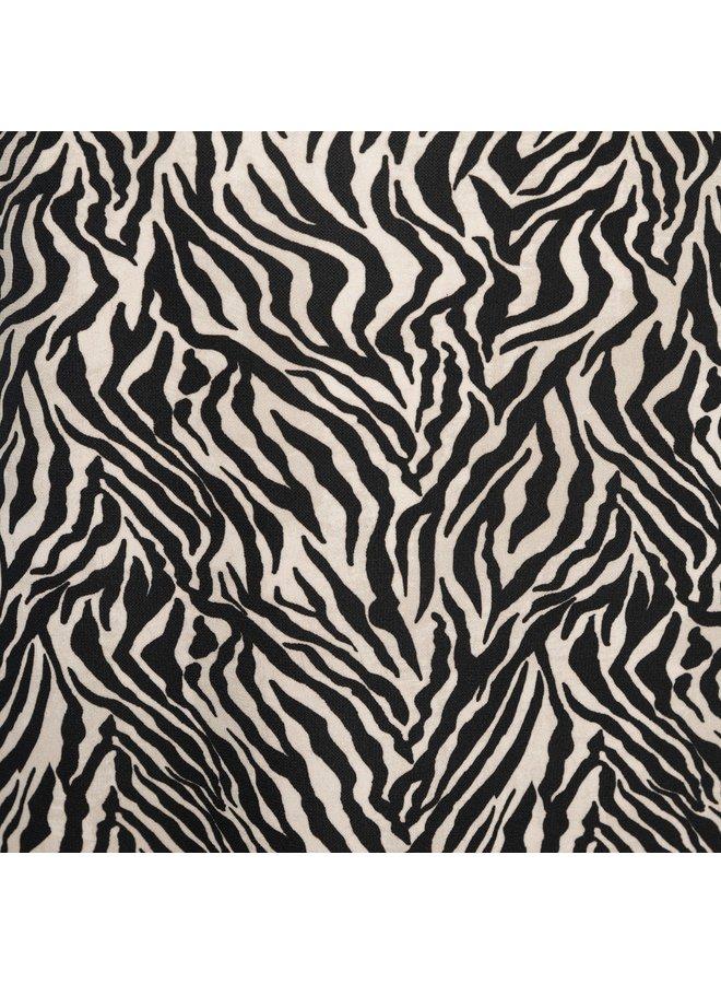 Jurk Lilly zebra zwart
