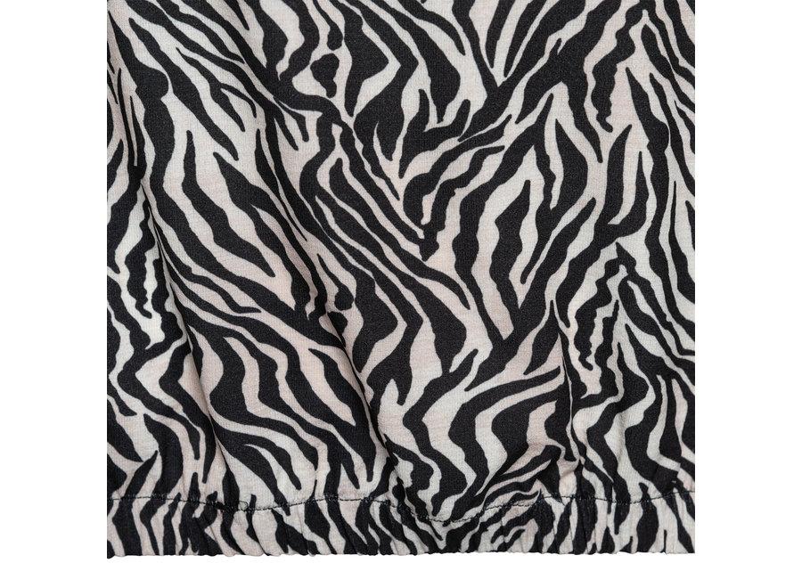 Top Rubi zebra zwart-zand