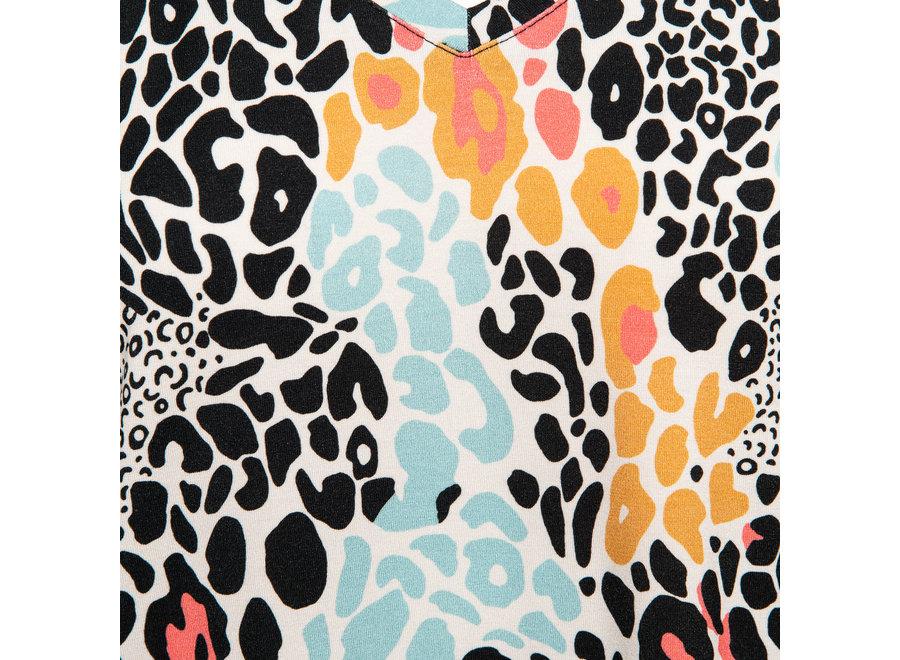 Top Vivian leopard