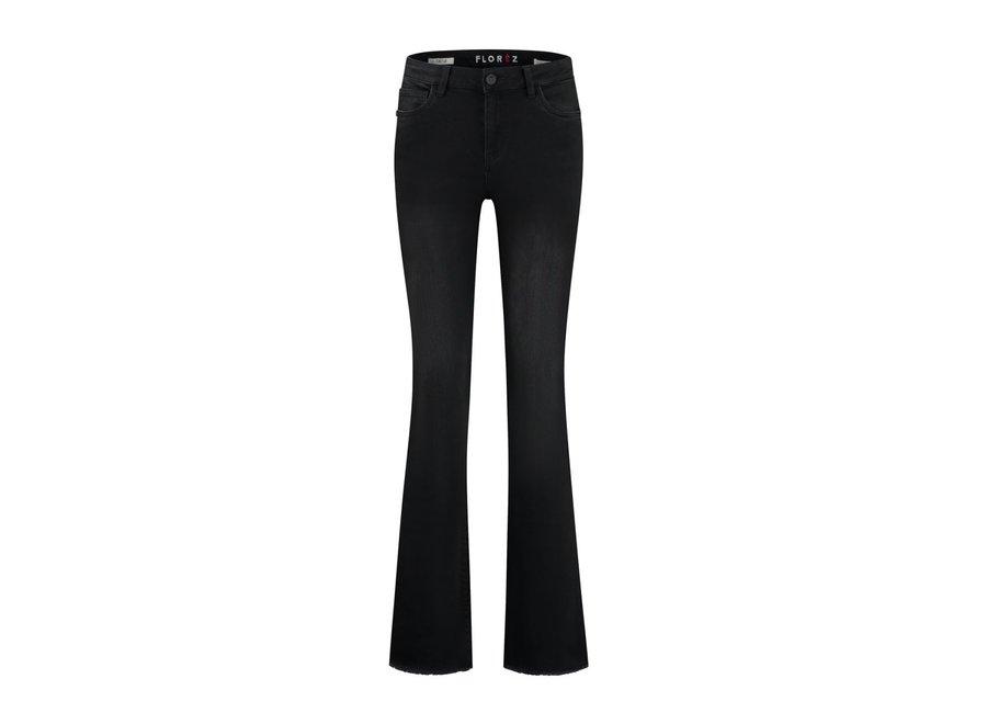 Jeans Florez flare zwart