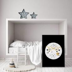 DesignClaud Planet Kinderzimmer Poster
