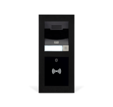 2N, IP Verso LTE modulaire basisunit met kleuren HD-camera  zwarte behuizing