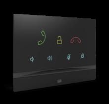 2N, Indoor Talk, audio binnenpost met touch-bediening, zwart