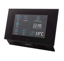 2N, Indoor Touch, 7 inch vandaalbestendige kleuren touch screen monitor, zwart