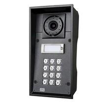 2N, Helios IP Force vandaalbestendige buitenmodule met kleurencamera, 1 drukknop, numerisch keypad