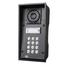 2N, Helios IP Force vandaalbestendige buitenmodule, 1 drukknop, numerisch keypad