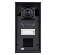 2N, Helios IP Force vandaalbestendige buitenmodule met kleurencamera, 1 drukknop, kaartlezer (optie)