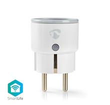 Wi-Fi smart plug   Stroommeter   Schuko type F   10A