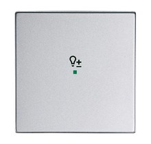 Free@Home bedieningswip 1-v dimmer Future Linear aluzilver