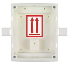 2N, inbouw installatieframe met grootte 1 module voor Helios IP Verso en Access Units, moet altijd gebruikt worden met de inbouwbox 9505014