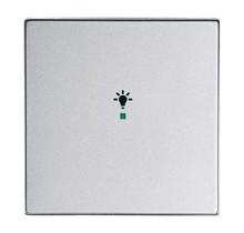 Free@Home Bedieningswip 1-v Future Linear Aluminium Zilver, Licht-Symbool