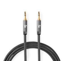 Stereo-Audiokabel  male-male 3.5mm 1.00m