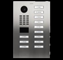 DoorBird IP intercom  D2112V RVS, 12 drukknoppen