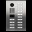 DoorBird Intercom systemen DoorBird IP intercom  D2114V RVS