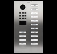 DoorBird IP intercom  D2115V RVS, 15 knoppen