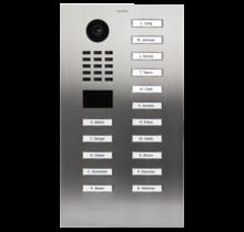DoorBird IP intercom  D2116V inbouw RVS