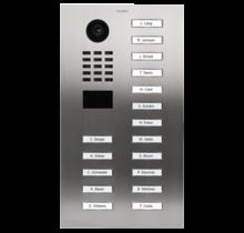 DoorBird IP intercom  D2117V inbouw RVS