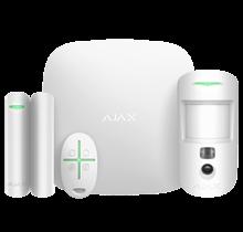 Ajax draadloos alarmsysteem Starterkit Cam kleur Wit