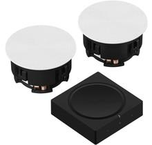 Sonos Amp Set met Sonance VP62R Plafondspeakers