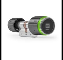 DOM Tapkey Pro ZWART knopcilinder - eenzijdige toegangscontrole met NFC/BLE - SKG***