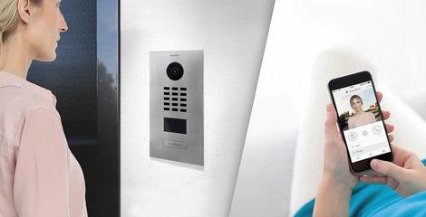 Installatie Doorbird Intercom