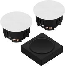 Sonos Amp Set met Sonance VP64R Plafondspeakers
