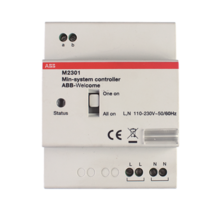 Busch-Welcome® Mini-systeemcontroller, MDRC Voeding deurcommunicatie