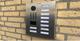 Installatie Doorbird D2110V intercom op locatie