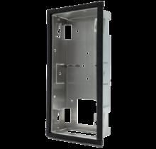 DoorBird D2101V   inbouw montagebehuizing, stainless steel V2A