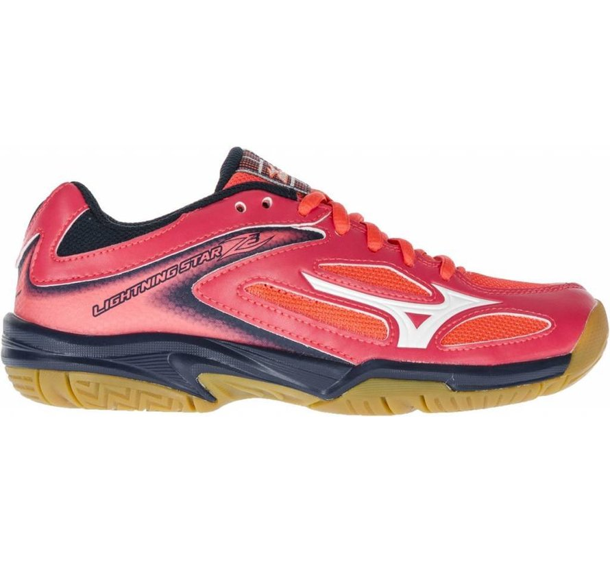 Mizuno Wave Lightning Star Z3 Jr roze volleybalschoenen meisjes