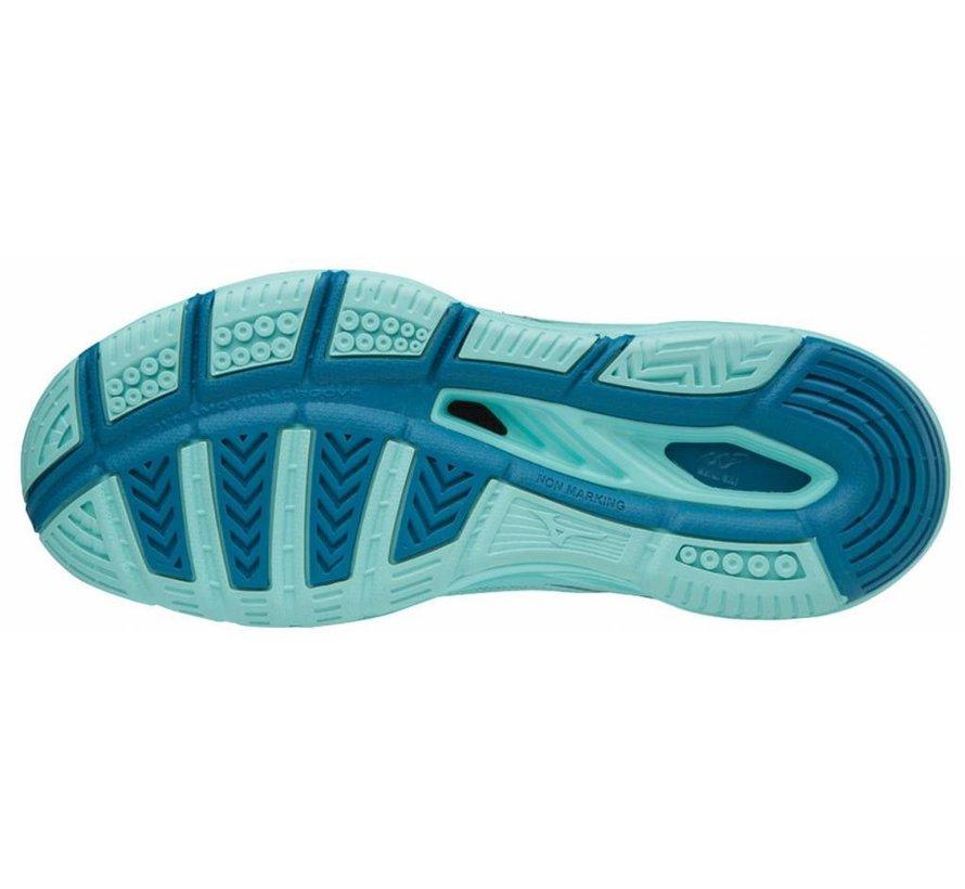 Mizuno Wave Luminous blauw volleybalschoenen dames