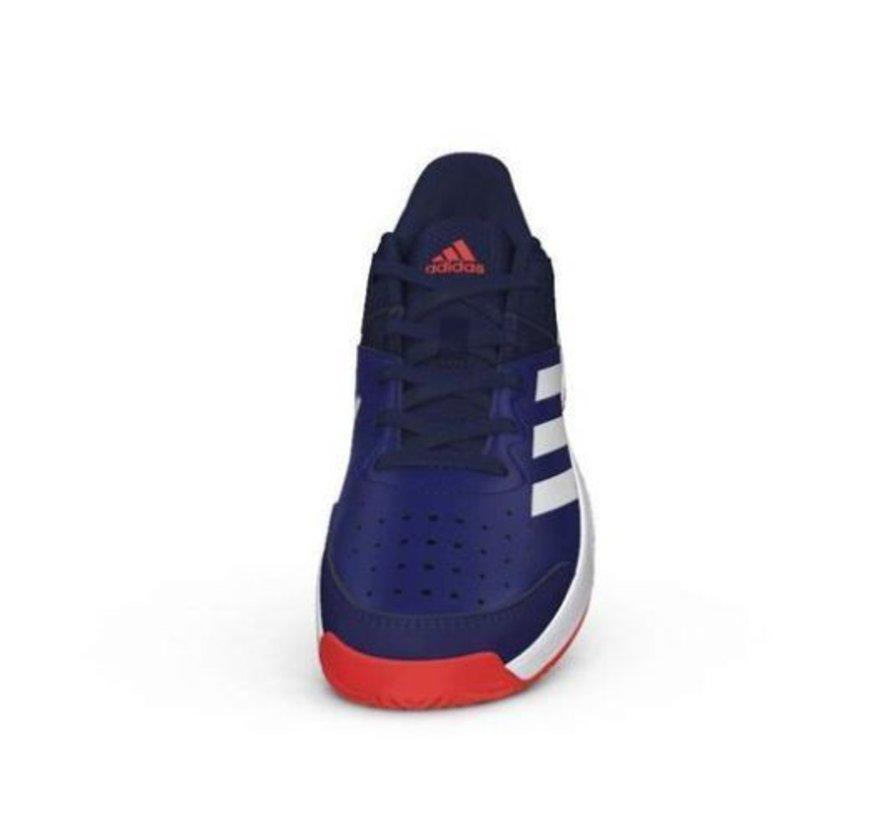 new style fab86 f2806 Adidas Court Stabil Jr blauw indoor handbalschoenen kids
