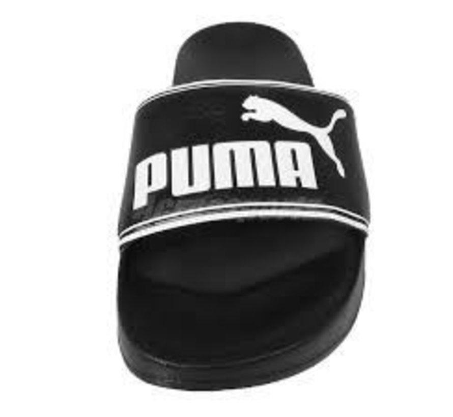 Puma Leadcat badslippers zwart heren