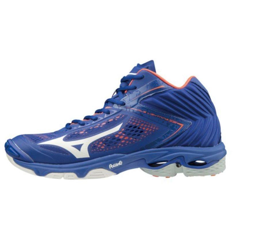 Mizuno Wave Lightning Z5 Mid blauw volleybalschoenen heren
