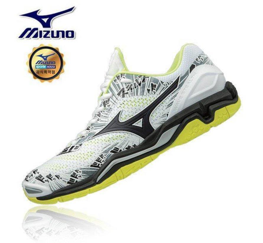 Mizuno Wave Stealth V wit handbalschoenen uni