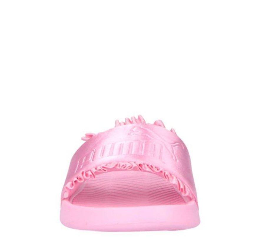 Puma Popcat Silk roze badslippers dames