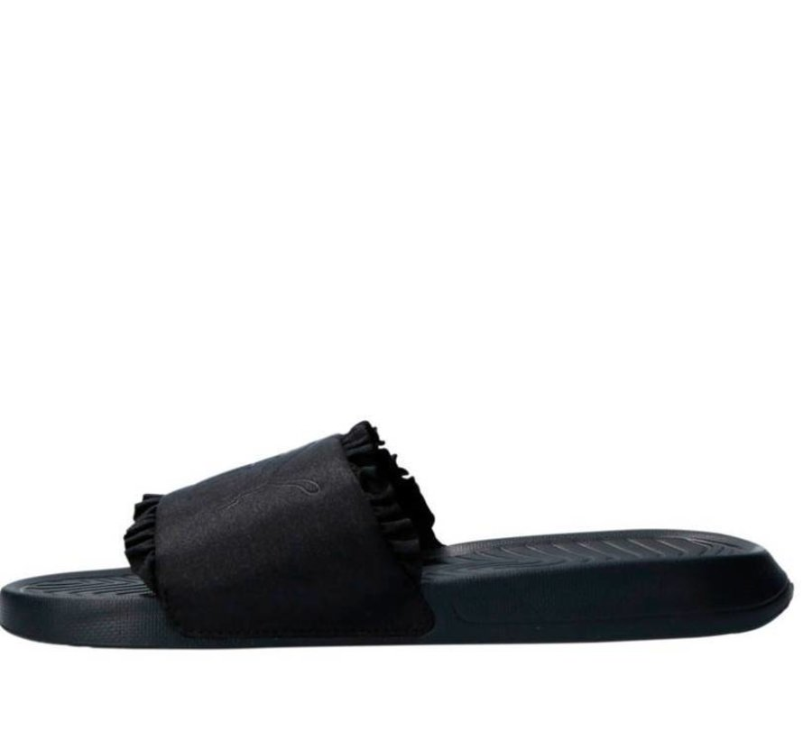 Puma Popcat Silk zwart badslippers dames