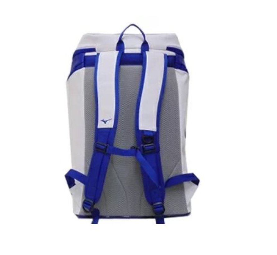 Mizuno Style rugzak blauw wit
