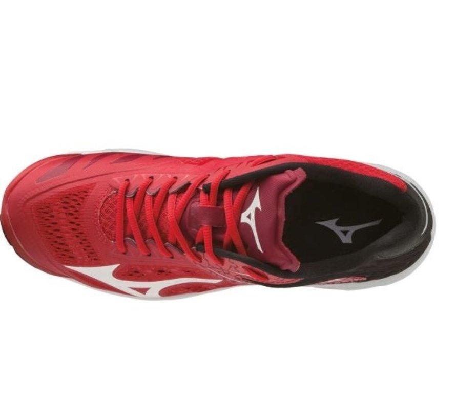 Mizuno Wave Lightning Z5 rood volleybalschoenen unisex