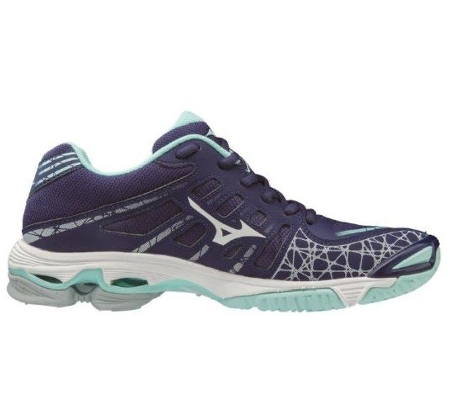 Mizuno Wave Voltage blauw volleybalschoenen dames