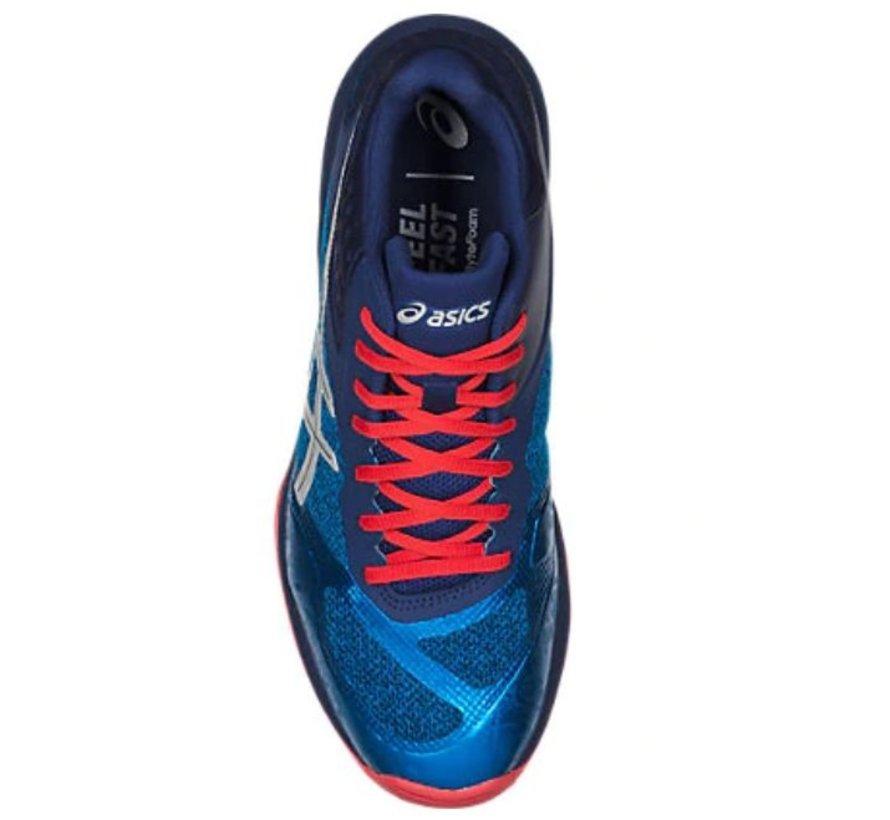 ASICS Gel Netburner Ballistic FF MT blauw volleybalschoenen heren