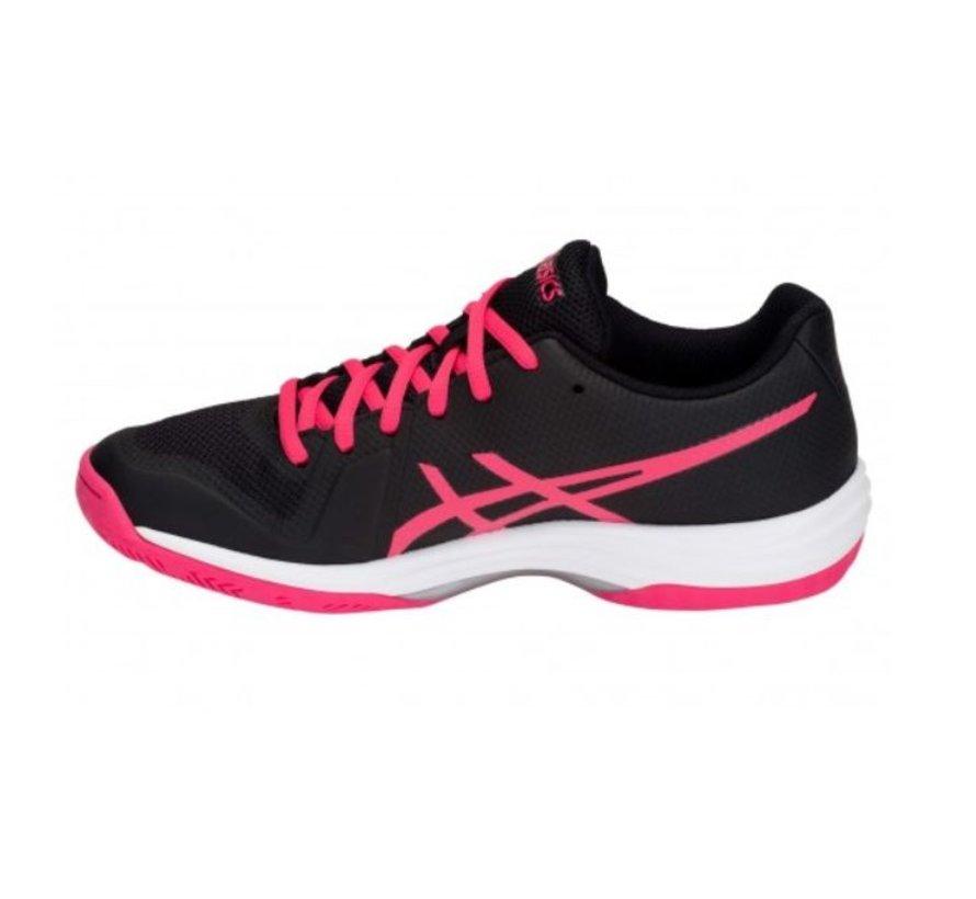 ASICS Gel Tactic zwart roze volleybalschoenen dames