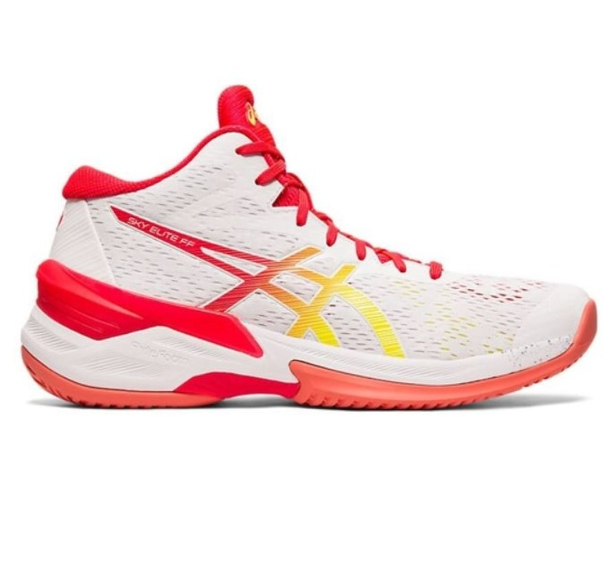 ASICS Sky Elite FF MT wit rood volleybalschoenen dames
