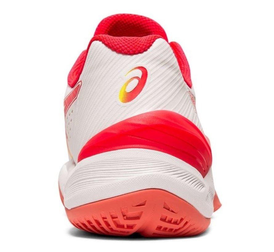 ASICS Sky Elite FF wit rood volleybalschoenen dames