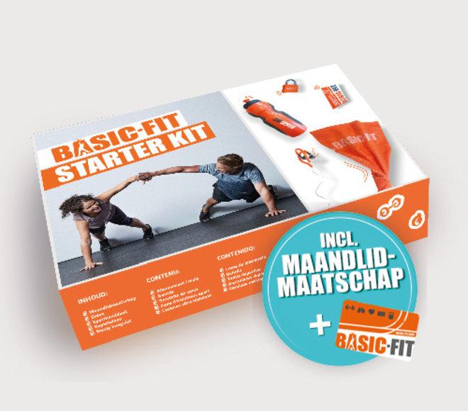 Starter Kit + Maandlidmaatschap NL