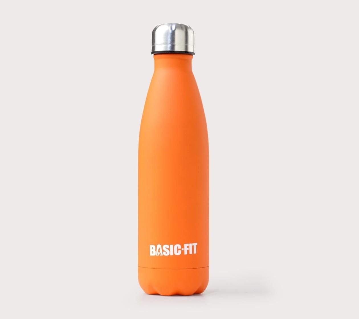 Drinkfles Oranje (RVS)