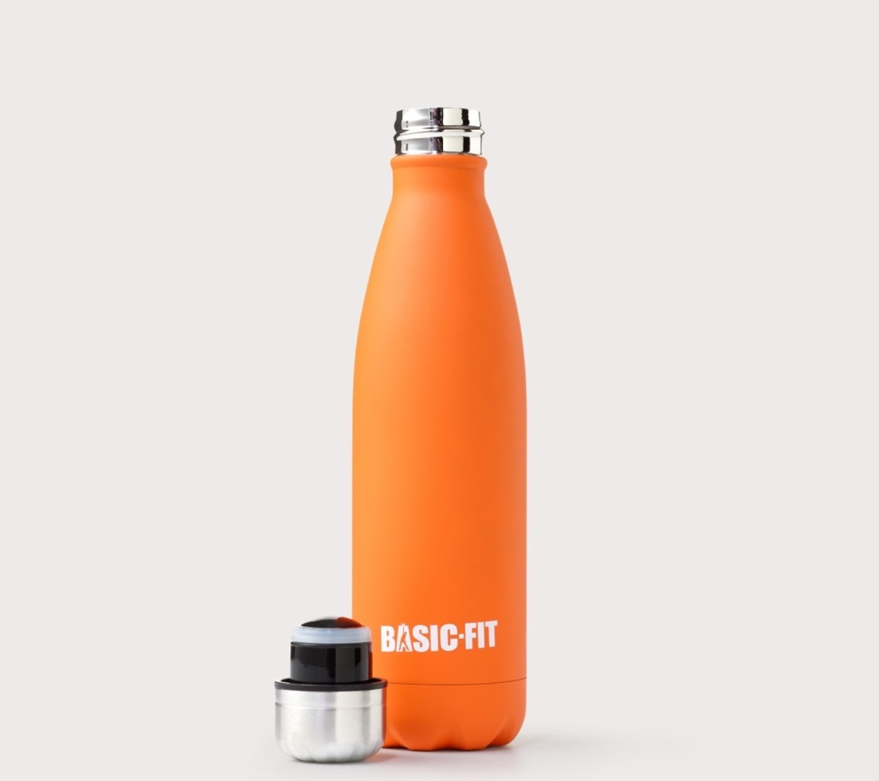 Botella de acero inoxidable Naranja