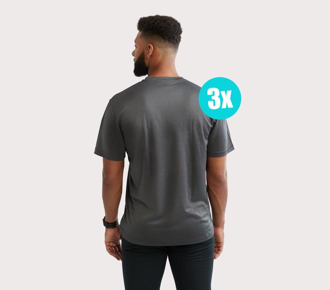 Camiseta Entrenamiento Hombre (3 piezas)